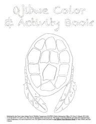 ojibwe colour and activity book