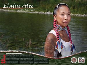 ELAINE ALEC - OKANAGAN AND SHUSWAP NATIONS