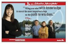 Be an Education Administrator 498KB