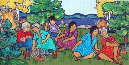An Elder's Stories about Ojibwa Art and Culture