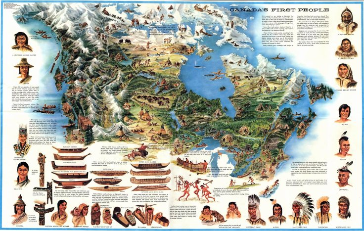 Canada's First People - Map