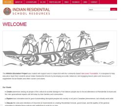 indian residential school resources website